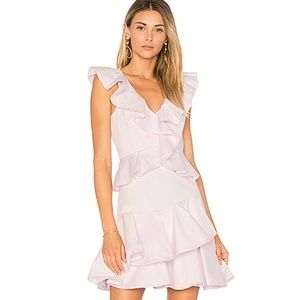 Rebecca Taylor BLACK Cotton Ruffle Dress